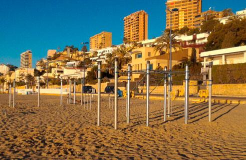 Ver trabajo: Parque en la playa de Benidorm
