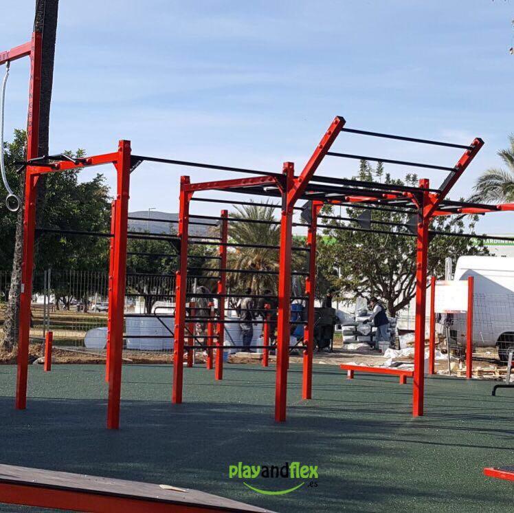Parque biosaludable - PlayAndFlex