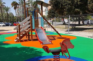 Ver trabajo: Parque infantil en Alicante